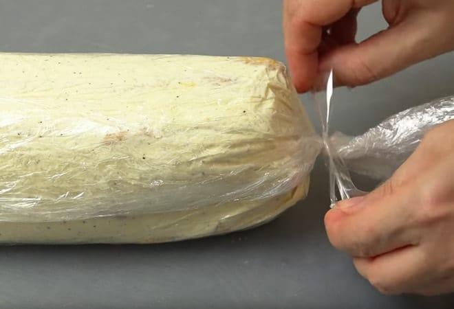 Пошаговая инструкция по приготовлению торта Полено с фото и видео