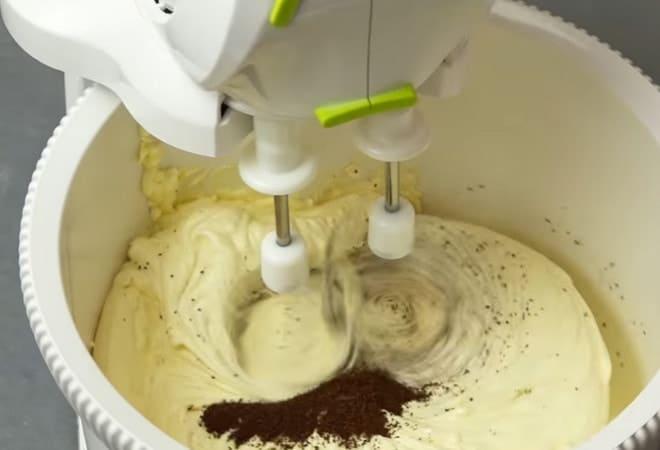 Торт Полено с кофейным вкусом