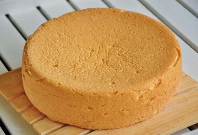 Бисквит для торта из маскарпоне готов