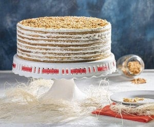 Классический рецепт медового торта Рыжик