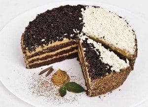 Необходимые продукты для приготовления торта День и ночь