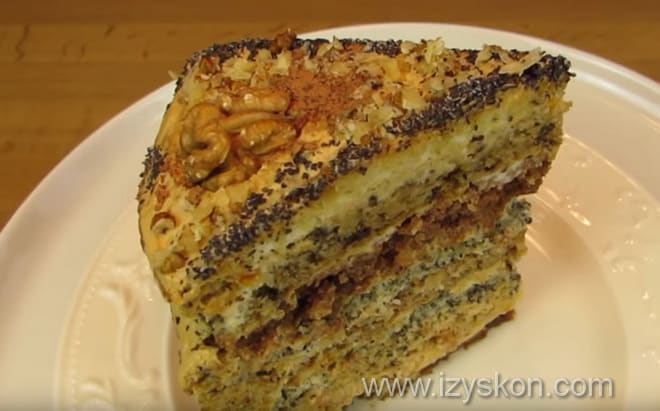 Как интересно подать торт дамский каприз