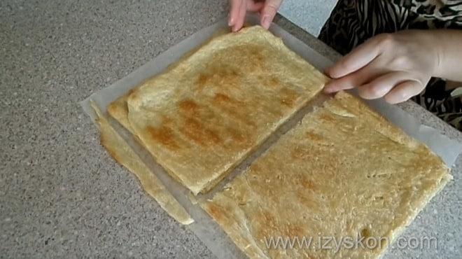 Как сделать торт наполеон с готовым слоеным тестом и заварным кремом