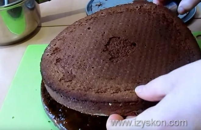 Как собирается торт захер