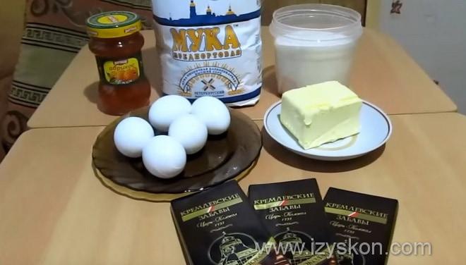 Какие ингредиенты торта захер по классическому рецепту