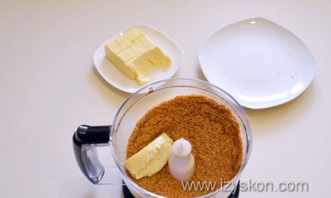 Как делать творожный торт без выпечки с овсяным печеньем