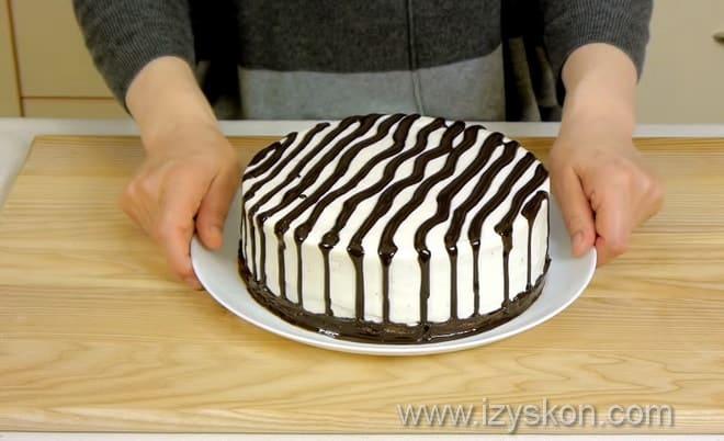 Как приготовить торт зебра используя классический рецепт с фото поша гово