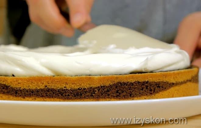 Как сделать торт зебра сочным и вкусным