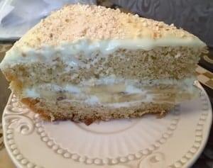 Как сделать банановую начинку для торта