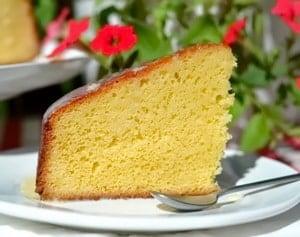 Бисквитный банановый торт
