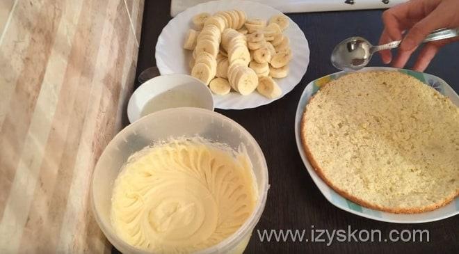 Готовим сливочный крем крем на банановый торт в домашних условиях