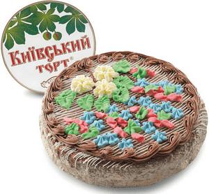 Киевский торт - предок торта Полет