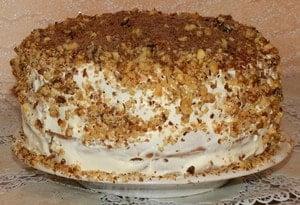 Торт из сметаны - это то что можно испечь быстро и вкусно
