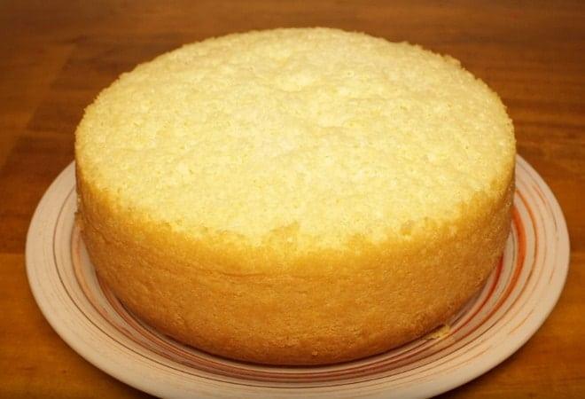 Рецепт бисквита для торта с безе с фото и видео