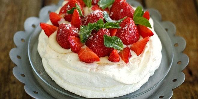Торт Павлова - простой пошаговый рецепт с фото