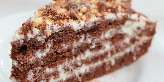 Рецепт очень вкусного торта в домашних условиях 505