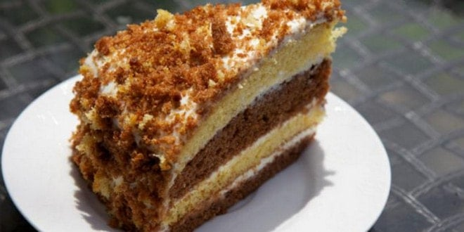 рецепты торт из сметаны