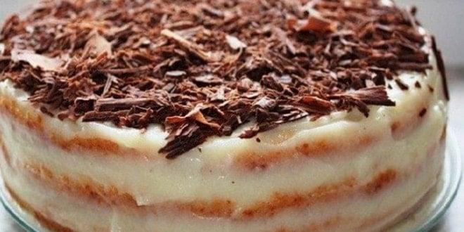 Вкусный торт на скорую руку: пошаговый рецепт простого десерта (с фото)