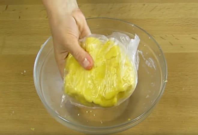Готовим тесто для торта Слезы ангела по домашнему рецепту