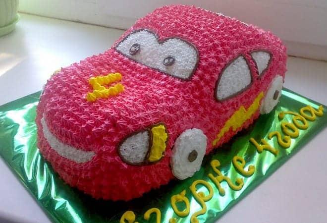 Детский торт на день рождение