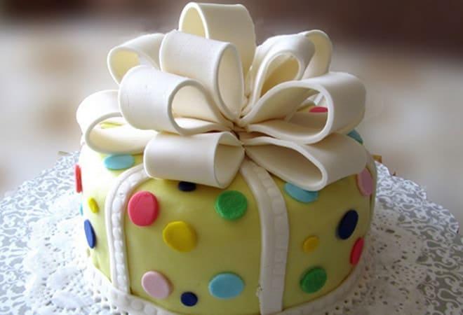 Торт-подарок
