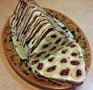 Торт монастырская изба от бабушки