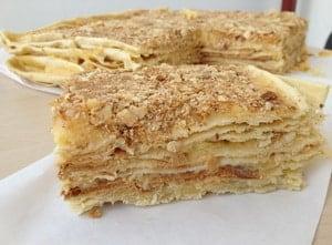 Как сделать торт Наполеон на сковороде пошаговый рецепт