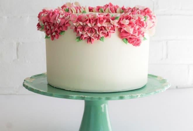 Украшение для торта из масляного крема