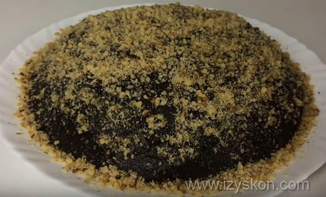 Готовый торт из зефира по рецепту с фото