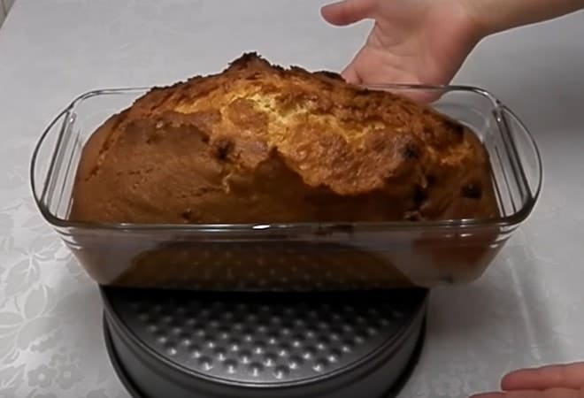 Как сделать кекс на майонезе
