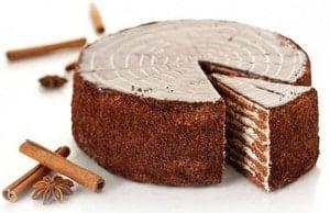 Откуда появился торт спартак, рецептура классическая которого предусматривает шоколадное тесто и заварной легкий крем