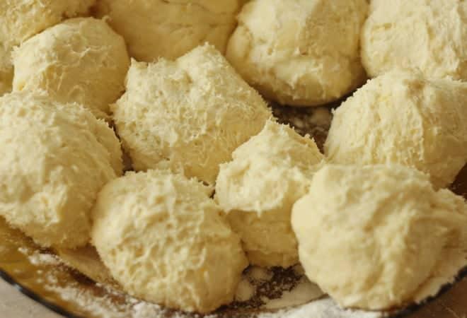 Как разделить тесто на части для торта Степка-растрепка, следуя рецепту с фото
