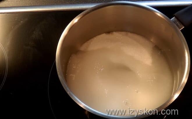 Как сварить сироп на белковый заварной крем для украшения торта используя советы с видео