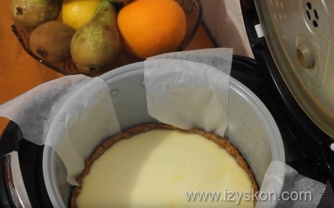 Чизкейк в мультиварке рецепты пошагово