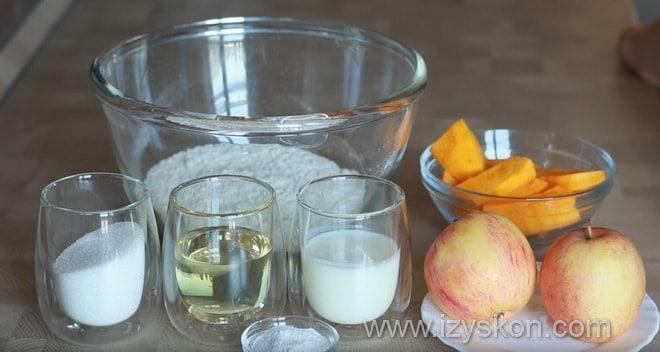 Какие продукты понадобятся на тыквенный кекс согласно рецепту с фото