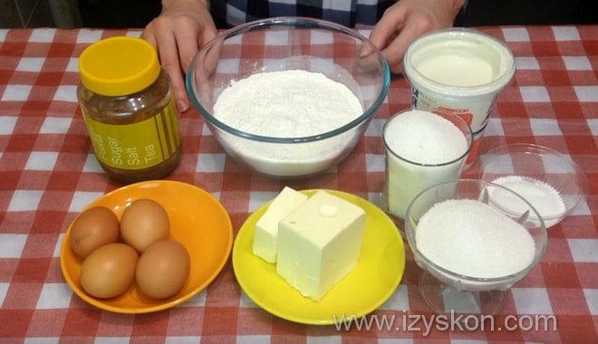 Какие продукты нужны для приготовления шоколадного кекса по рецепту с фото