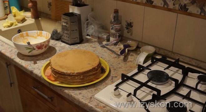 Какие заключительные шаги приготовления торта Микадо