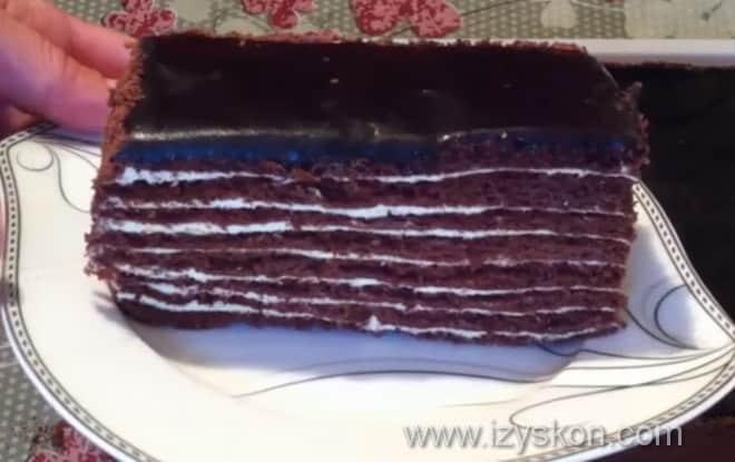 Как приготовить удивительный торт спартак быстро и легко