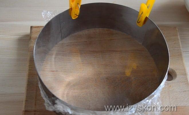 Как формировать торт три шоколада