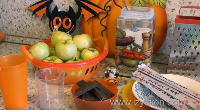 Как сделать карамель из сахара для яблок