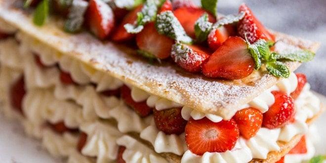 «Мильфей»: как приготовить французский десерт в домашних условиях