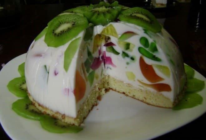 Красивое оформление десерта без выпечки