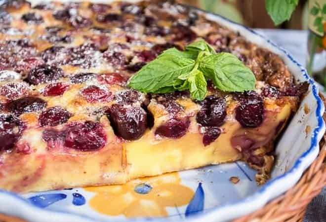Красивое оформление десерта