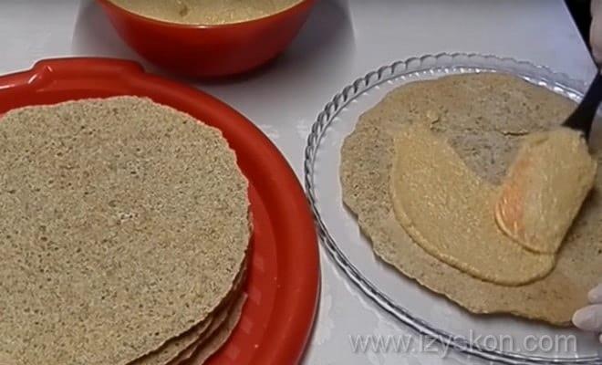 Начинаем сборку торта Эстерхази с фото пошагово