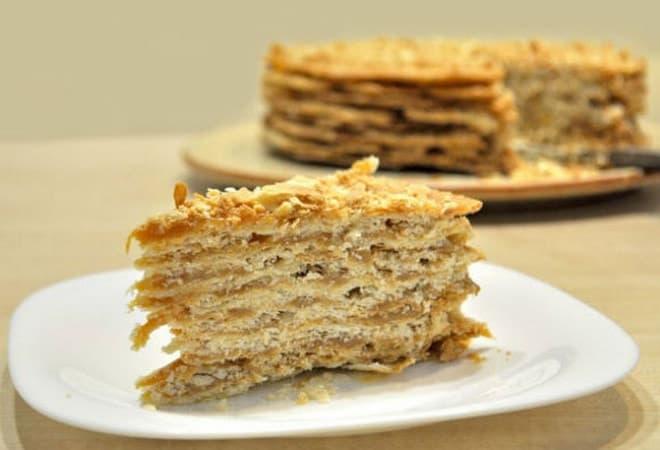 Торт Степка-растрепка, рецепт в домашних условиях