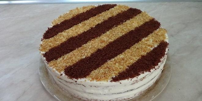 Заливные коржи для торта