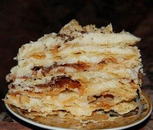Торт Степка-растрепка рецепт с фото