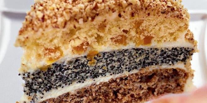 Торт «Сказка»: пошаговый рецепт с фото
