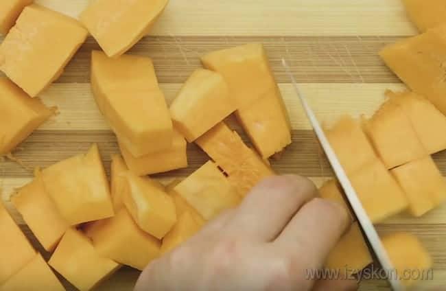 Икра из тыквы с баклажанами - это хороший рецепт на зиму.