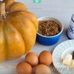 Что нужно для приготовления пудинга из тыквы и яблок